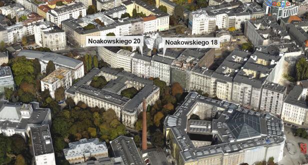 Budynki należą do PW Google