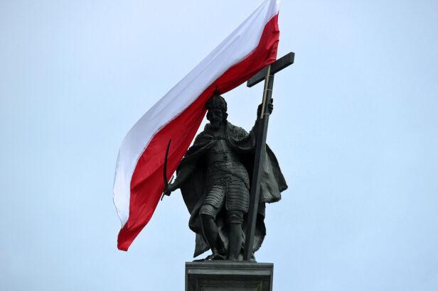 W 2014 roku flagą została ozdobiona kolumna Zygmunta tvnwarszawa.pl