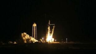 SpaceX wysłał załogową kapsułę na stację kosmiczną