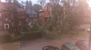Czerwionka- Leszczyny po dzisiejszej burzy