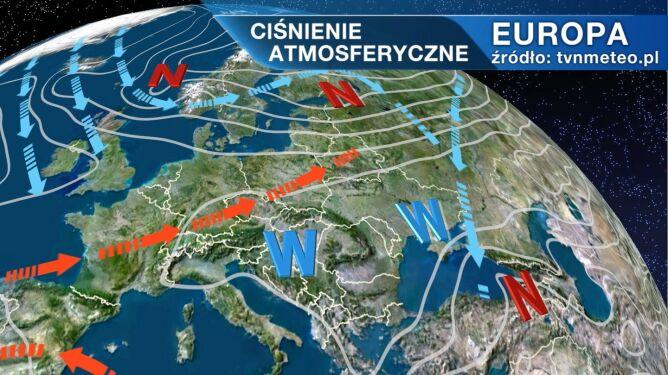 Wyż Inglof rządzi pogodą w Polsce