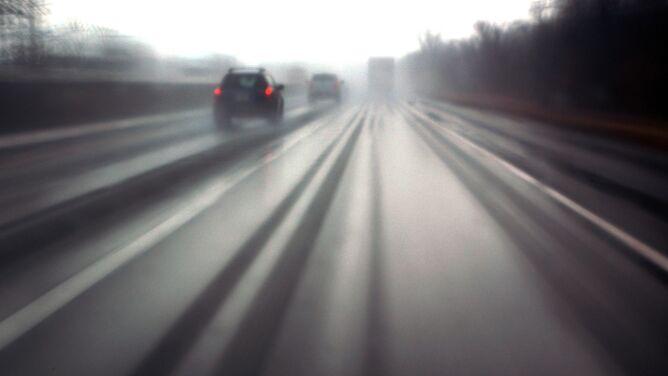 Trudne warunki na polskich drogach