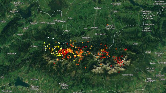 Grzmi w Tatrach. Sprawdź, gdzie jest burza