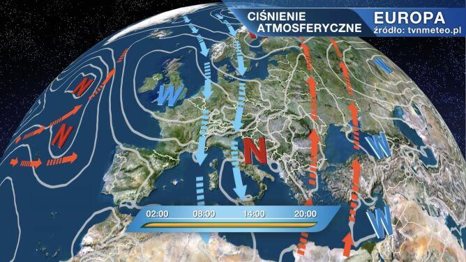 Do Polski napływa zimne powietrze arktyczne