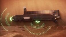 Okręt podwodny z napędem jądrowym spenetruje Tytana