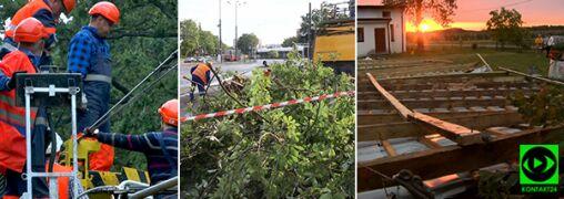 Niszczycielskie burze przeszły nad Polską. Jedna osoba nie żyje, prawie 300 uszkodzonych budynków