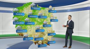 Prognoza pogody na poniedziałek 5.04