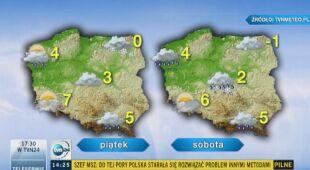 Jakie będą najbliższe dni w pogodzie?
